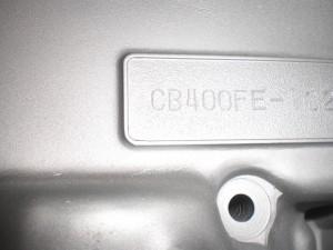 CB400FE CRANKCASE GUN-KOTE