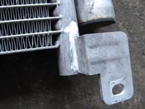 Alfa-Romeo166 A/C CONDENSER REPAIR