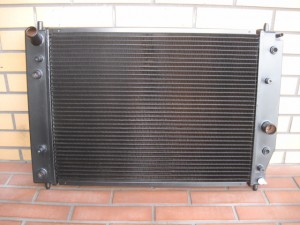 CORVETTE  C6 Radiator 4Row