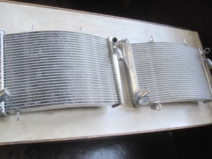 HONDA HRC NSR250 Radiator