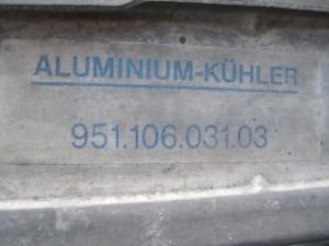 PORSSCHE 944 Radiator