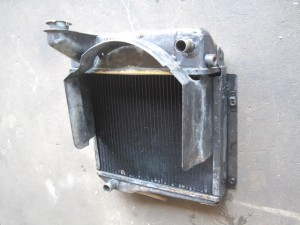 MG MIDGET RADIATOR