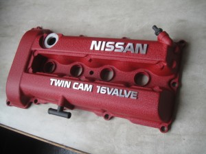 NISSAN SILVIA S13 HeadCover WrinklePaint