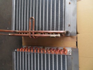 Fincoil condenser