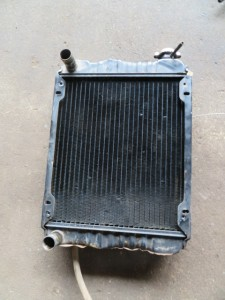 AIRMAN Backhoe AX15-2 Radiator