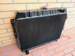y1968 Dodge Charger Radiator