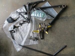 Caterham SUPERSEVEN Parts Powdercoating