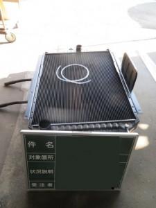 明電舎製 ZXMA200 非常用発電機 ラジエーター