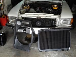 BENZ 450SLC RADIATOR