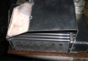 AIR to WATER INTERCOOLER