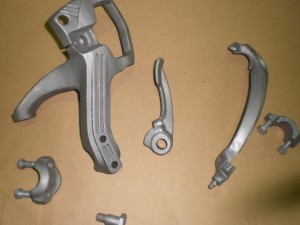 POLICE SIREN BRACKET POWDERCOATING