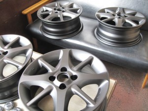 NISSAN  MARCH  WHEEL PowderCoating