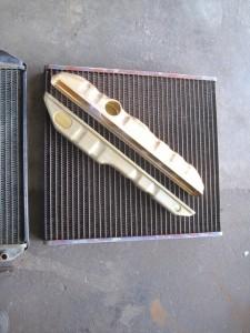 KUBOTA TRACTOR RADIATOR