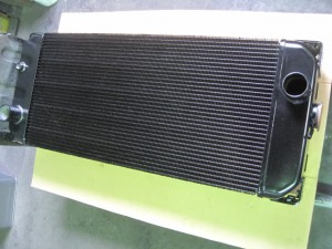 HITACHI LX80 Radiator
