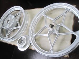 GSX1100S KATANA Wheel Powdercoating