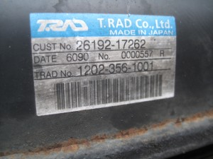 TCM L13-HD3 Radiator&Oilcooler