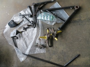 Caterham SUPERSEVEN Parts Powdercoating