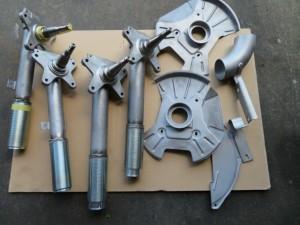BMW 2002 TURBO Parts Powdercoating