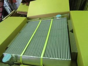 神威産業製 H601RW1 オイルクーラー修理
