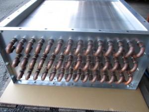 熱風乾燥機用(蒸気)熱交換器製作