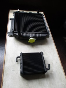 NISSAN SUNNYVAN VB311 Radiator 3Row