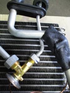 NISSAN Figaro expansion valve