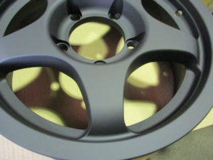 OZ Racing Wheel Powdercoting