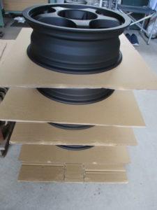 OZ Racing Wheel Powder coating