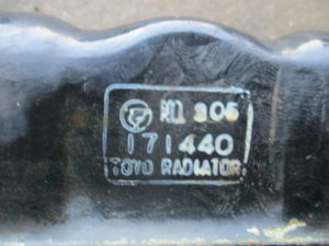 ヤンマー 除雪機 YSR3420A ラジエーター修理