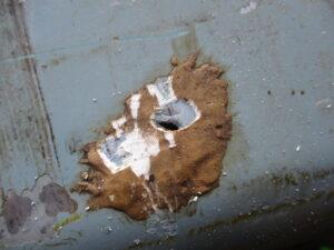 燃料タンク漏れ修理