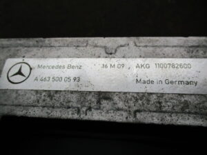 MercedesBenz W463 OILCOOLER