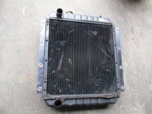 特装車 高圧洗浄車 ラジエーター修理