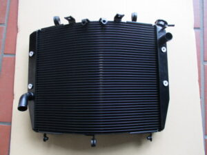 KAWASAKI NINJA H2R Radiator CERAKOTE P-202 Arctic Black